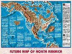 Map Of United States In The Late Cretaceous Time Period North - Us navy map of future america
