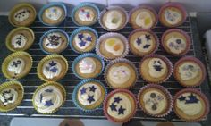 first vanilla cupcakes made