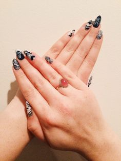It's Vintage | Holly Stair | Atoms for Peace/Stanley Donwood nail art