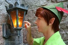 I wanna work as a character at Disney world.. Particularly Peter Pan c: