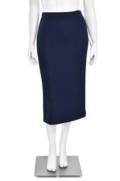 770c56795c St. John Collection by Marie Gray Tangerine Boucle Pencil Skirt | St. John  Knits | Knit pencil skirt, Skirts, Knit skirt