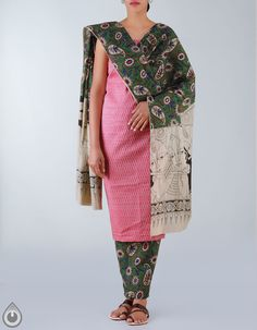7060ff1612 shop designer kalamkari salwar kameeez online, Punjabi suit, Unnati Silks