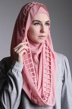 Fantaisie Deux Pièces Fleur Hijab Head Wear Cover foulard islamique robe haute qualité
