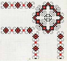 Romanian Folk Art pattern