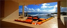 Equity Estates Home in Lover's Cove, Anguilla. The patio, you'll be spending a lot of time out here.