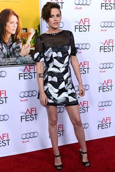 Kristen Stewart in Chanel | AFI Film Fest 2014