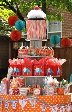 Circus Theme Party Food Ideas