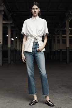 T by Alexander Wang Pre-Fall 2016 Fashion Show