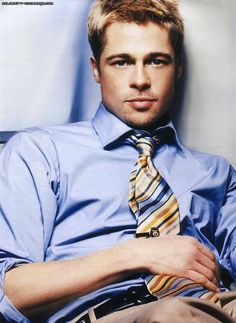 brad pitt. i'll give him his props, he was attractive in his YOUNGER days lol