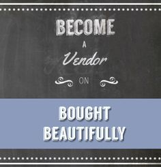 Become A Vendor on Bought Beautifully, sell products that make positive impacts #boughtbeautifully