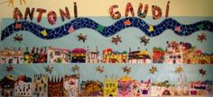 El mural que van acabar els alumnes Projects For Kids, Art Projects, Antoni Gaudi, Collaborative Art, Art Programs, Teaching Art, Teaching Ideas, Art Club, Architecture Art