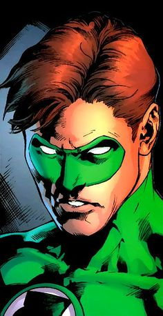 Green Lantern Hal Jordan by Ivan Reis -- I think Ivan Reis is the best artist out there today. He reminds me of Adams...only better!