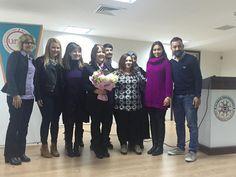 Uludağ Üniversitesi Matematik Kulübü konuşmacı Bursa Şube Müdürümüz Handan Üstündağ 2016
