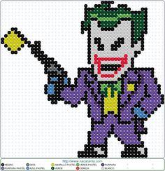 Joker EN HAMA BEADS