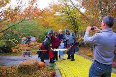 So fun, can't wait to do this! Autumn at Oz: Land of Oz, Beech Mountain, NC #asheville