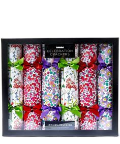 Liberty Floral Super Deluxe Christmas Crackers | Christmas | Liberty.co.uk