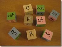 Phonics blocks