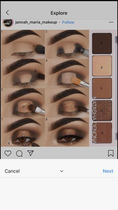 Smokey Eye Makeup Easy Steps enough Makeup Artist Outlook their Makeup Forever F Natural Makeup Tutorial artist Easy Eye Makeup Outlook Smokey Steps makeup steps Eye Makeup Steps, Eye Makeup Art, Simple Eye Makeup, Contour Makeup, Cute Makeup, Skin Makeup, Makeup Inspo, Natural Makeup, Makeup Brushes
