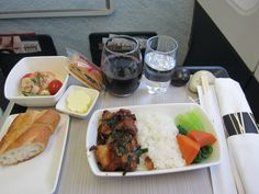 airline meal Cathay Pacific