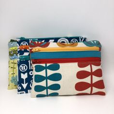 A Photo's Worth: Triple Zip Pouch #7