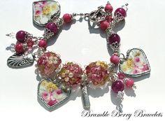 Broken China Bracelet  Broken China by brambleberrybracelet, $68.00