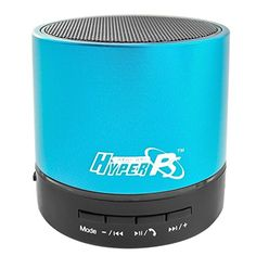 HyperPS – Bluetooth Wireless Mini Portable Super Bass Speaker with Built-in Mp3 Player Supporting to Play from Micro SD Card / USB Thumb Drive  Microphone for Handfree Phone call For iphone Samsung Tablet PC (Metallic Blue) Reviews    $ 13.49 Portable Speakers Product Features Perfect for Apple iPhone, iPad, iPod, MacBook, all Android smartphones, Samsung Galaxy S4  S5, Kindle Fire HD, all tablets, laptop, computer and MP3 player Superb best quality room filling soun..