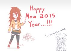Happy New Year 2015 By: Less by LessSanArt207 on DeviantArt