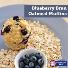 Try these great Blueberry Muffins from our fitness partner Cathe Friedrich! #spon