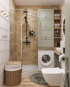 Laundry Room Design, Home Room Design, Bathroom Design Small, Bathroom Layout, Bathroom Interior Design, Modern Bathroom, House Design, Tiny Bathrooms, Bathroom Ideas