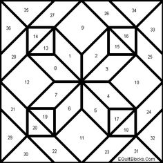 double aster quilt block pattern making a quilt block once you