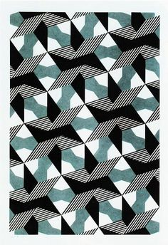 Gerard Caris does patterns in 2D as well!