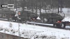 Tanks and US military technology is already in Riga, go to DONBASS The video footage depicted as the American military equipment sent via Riga to Ukraine. West provides the Ukrainian army tanks, weapons and ammunition. This indicates that in the near future to resume full-scale fighting in the Donbass ...
