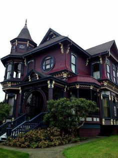 Victorian home in California