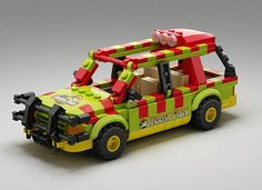JP Explorer and minifigures from my other project Jurassic Park. This is more cheaper way to get just those if maingate and T-rex arenot must-haves for you! This project inc...
