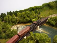 Alternative to Realistic Water - Model Railroader Magazine - Model Railroading, Model Trains, Reviews, Track Plans, and Forums