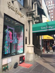 Caitlin Hartley of Styled American Lilly Pulitzer on Madison Avenue in NYC http://styledamerican.com/nyjl-shops-event/