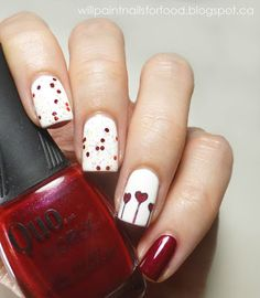 Will Paint Nails for Food: Happy Canada Day!