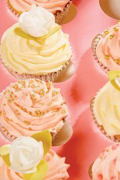 tasteful, pastel cupcake decorating ideas.