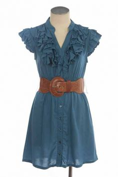 Ive posted one similar....but I like the blue with the brown...