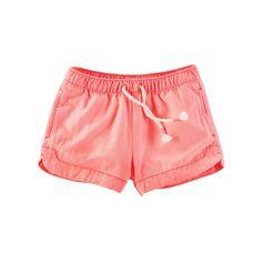 Girls 4-8 OshKosh B'gosh® Solid Shorts, Girl's, Size: 6X, Orange