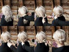 (if only I had long hair Safari, Folk Costume, Hair Dos, Hair Designs, Hair Hacks, Easy Hairstyles, Hair And Nails, Hair Inspiration, Beauty Hacks