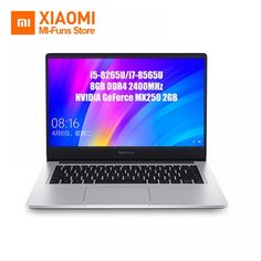 Original Xiaomi Redmibook 14 Inch Laptop Intel Core i5 - 8265U / i7 - 8565U 8GB DDR4 2400MHz RAM NVIDIA GeForce MX250  Price: 349274.00 & FREE Shipping  #women Core I, Display Resolution, Quad, Brand Names, Laptop, The Originals, Free Shipping, Link, Women