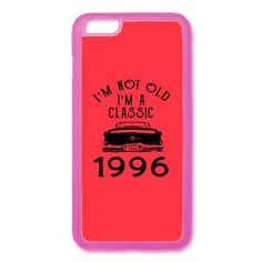 i'm not old i'm a classic 1996 iPhone 6/6s Rubber Case