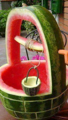 Food art......Can make it ..so cute and simple