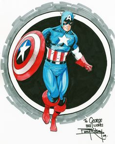 Captain America by Barry Kitson