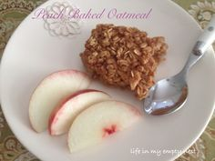 life in my empty nest: Peach Baked Oatmeal
