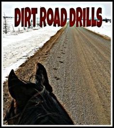 Say goodbye to mindless straight lines and work your horses body and mind while riding the roads.
