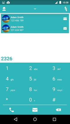 12 best Android dialer images in 2015 | Ui ux, Interface