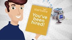 2010: Begin work with StartWire, a free job search organizer site that lets job seekers get updates on their application status at 7,000+ companies.