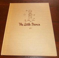 THE LITTLE PRINCE ANTOINE DE SAINT-EXUPERY BOOK  Harcourt Reynal & Hitchcock  #antique #books